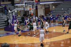 JV Boys Basketball at Greencastle  2-14-18