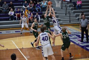 Varsity Boys Basketball at Greencastle  2-1-18