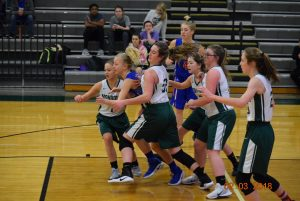 8th Grade Girls Basketball County Tournament 2-3-18