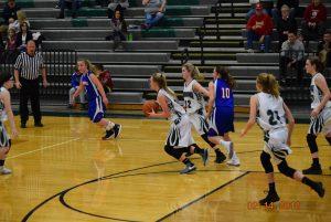 7th Grade Girls Basketball vs Eminence  2-14-18