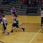 8th Girls Basketball vs Eminence  2-14-18