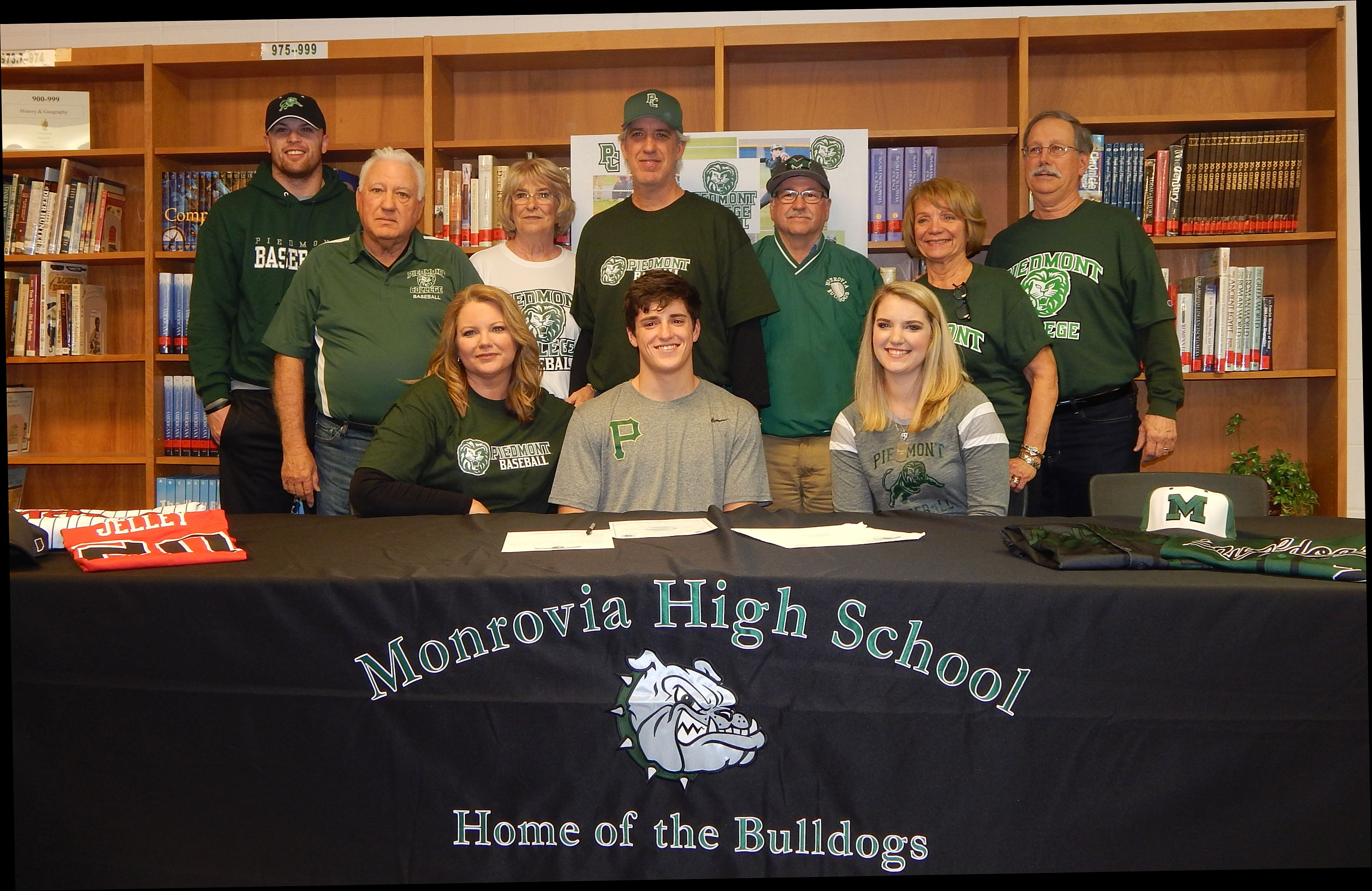 Conner Jelley Signs with Piedmont College!