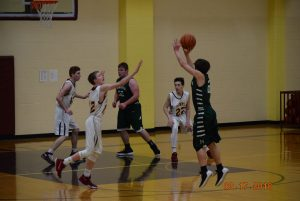 JV Boys Basketball at Lutheran  2-17-18
