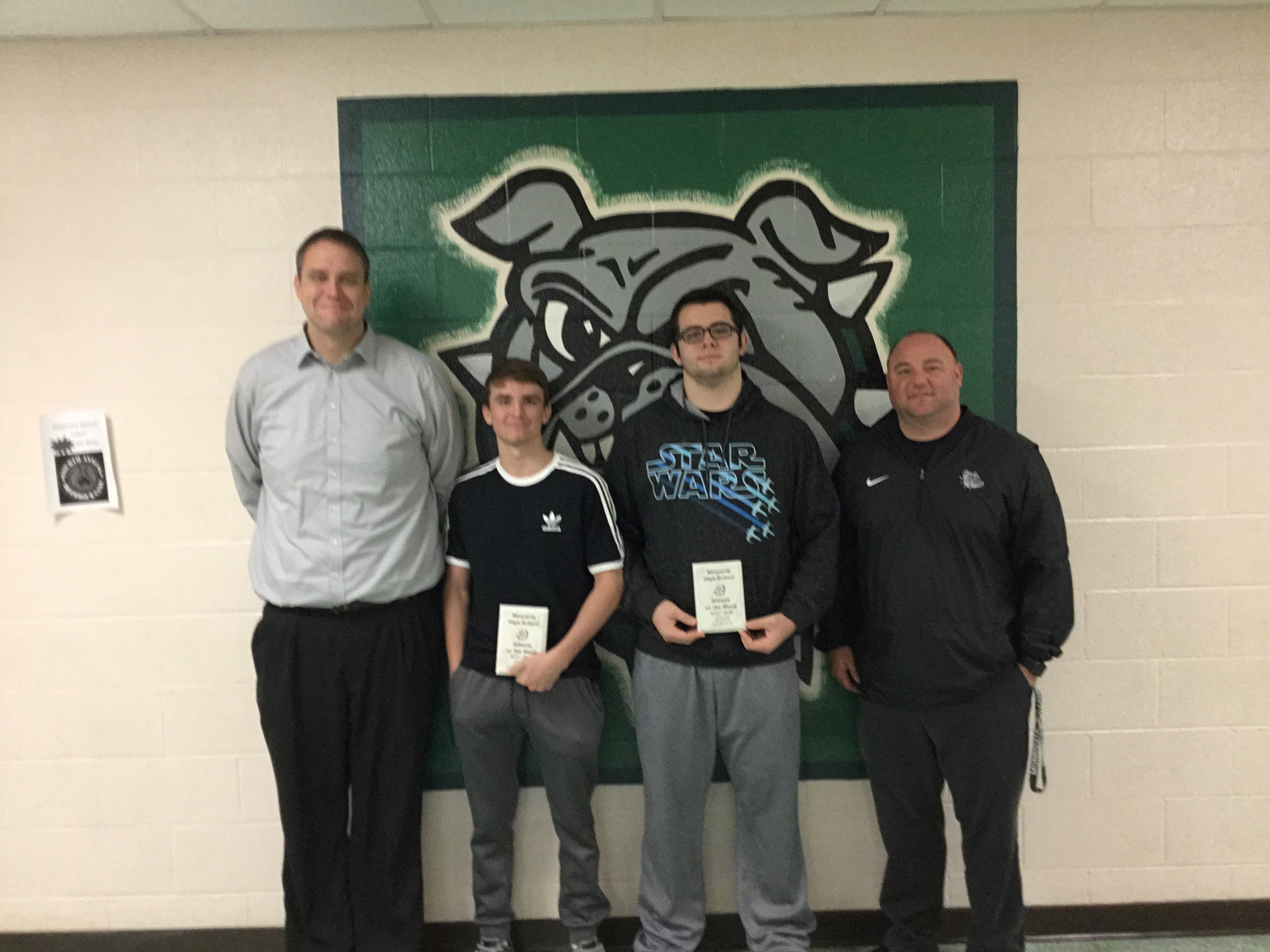 Brycen Denny and Riley McCubbins are Nichols Insurance Athletes of the Week!