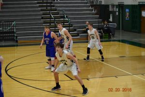 JV Boys Basketball vs Eminence   2-20-18