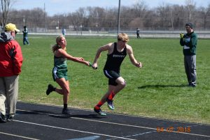 Bulldog Relays vs Cascade, Danville and Greencastle  4-7-2018
