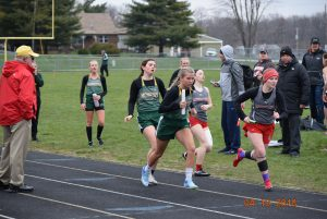 Varsity Bulldogs Track vs Southmont and North Put  4-10-18