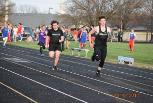 MHS Varsity Track at Greencastle w/ Owen Valley   4-12-18