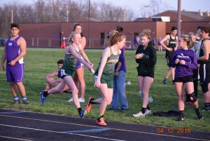 MHS Varsity Track at Greencastle with Owen Valley  4-12-18
