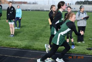 MMS Track at Tri-West with Cascade   4-17-18