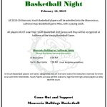 Monrovia Youth Basketball Night – THIS SATURDAY