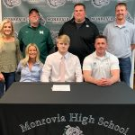 Clay Whitney Signs to Play Football at Tiffin University
