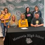 Karsyn Rhea signs with Marian Cheer!!