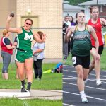 Brooklynn Belcher & Madison Payne to Compete in IHSAA Track Regionals