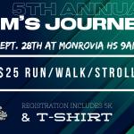 5th Annual Jim's Journey ~ 5K Run/Walk/Stroll