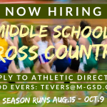 Now Hiring: Middle School Cross Country Coach