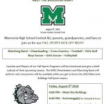 3rd Annual Meet the Bulldogs Night this Friday at 6:00 PM