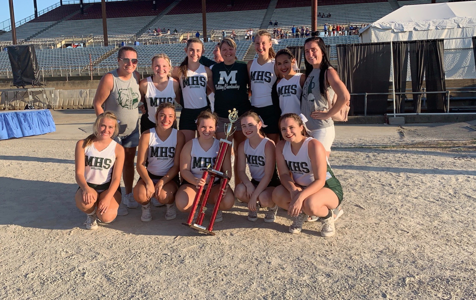 Varsity Cheer Takes 1st Place at Indiana State Fair