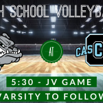 HS Volleyball – Monrovia (9-2) at Cascade (4-10) Tonight at 5:30/6:30pm