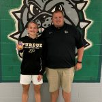 Congratulations to Madi Payne – IHSAA Sportsmanship Pin Recipient