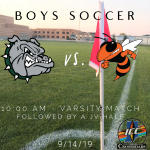 Boys Soccer Gameday – Bulldogs Host Beech Grove at 10:00 AM