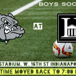 Boys Soccer Tonight at Herron (Kuntz Stadium) Start Time Moved to 7:00 PM