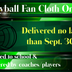 Volleyball: Fan Cloth Orders Statement from Fan Cloth
