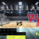 Volleyball Game Day: Bulldogs Host Western Boone Tonight (5:30/6:30pm)