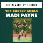 Madi Payne Scores her 100th (and 101st Career Goal!!