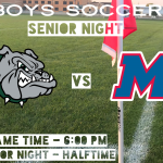 Boys Varsity Soccer Hosts Martinsville This Evening (6:00 PM) – Senior Night at Halftime