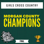 Girls Cross Country – Morgan County Champions!! 🏆🏃🏻‍♀️💨