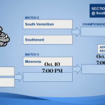 Girls' Soccer Sectionals Begin on Thursday Oct. 10th (at Southmont HS) – 7:00 PM)