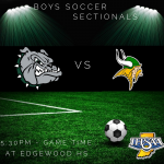 Boys' Soccer Sectionals Begin Tonight vs West Vigo (at Edgewood HS) – 5:30 PM