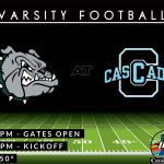 Football Friday: Bulldogs Travel to Cascade Tonight (7:00pm – Kickoff)