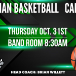 Monrovia High School Freshman Basketball – Call-Out Meeting on Thursday Oct. 31th