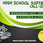 Monrovia High School Softball Call-Out Meeting on Wednesday Oct. 30th