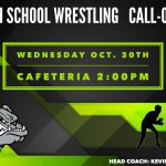 Monrovia High School Wrestling – Call-Out Meeting on Wednesday Oct. 30th