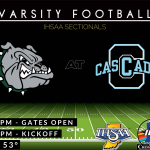 Football Friday: Monrovia at Cascade (7pm) – IHSAA Sectionals
