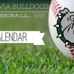 2019-20 HS Baseball Team Calendar