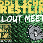 Middle School Wrestling – Callout Meeting – Thursday (Nov. 14th) at 11:30 AM