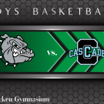 Boys Basketball hosts the Cascade Cadets Tonight (6:00/7:30pm)