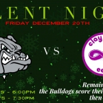 Silent Night – Friday Dec. 20th – vs. Clay City