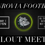 High School Football Callout Meeting – Tuesday January 7th (2:45pm)