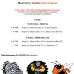 Girls/Boys Basketball Double Header – Saturday Night – Jan.11th