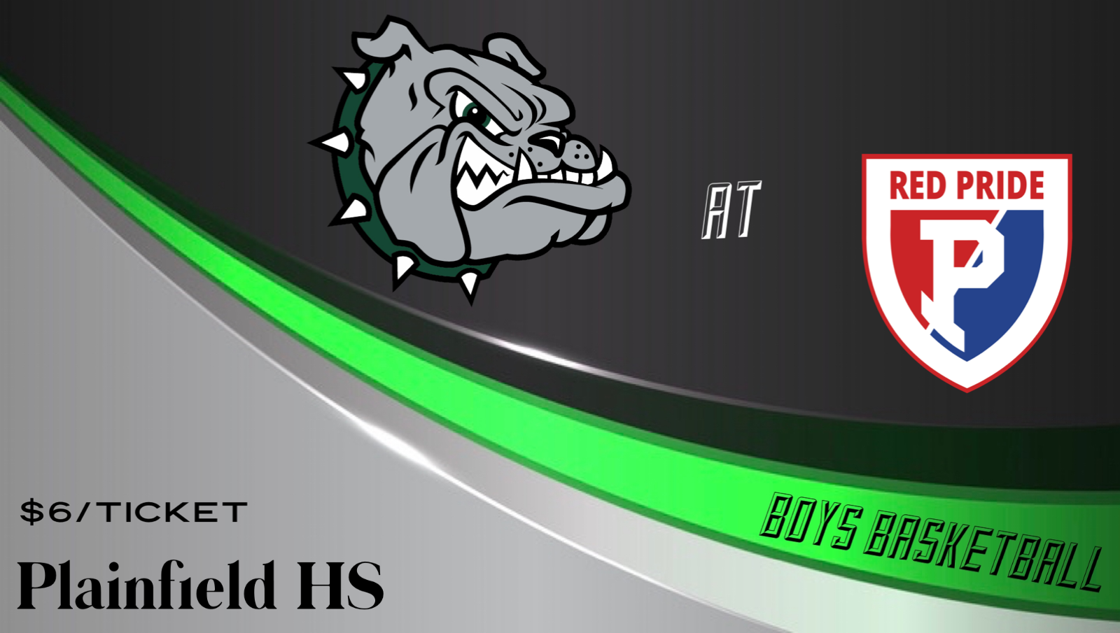 Game Day: Bulldogs Boys Basketball Travels to Plainfield tonight!! (6:00/7:30pm)