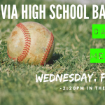 High School Baseball Callout Meeting – Wednesday, Feb. 5th