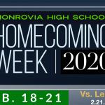 Homecoming Week 2020 (Feb. 18 – 21)