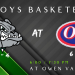 ❤️ Game Day: Boys Basketball travels to Owen Valley tonight – Feb.14th – (6:00pm/7:30pm) ❤️