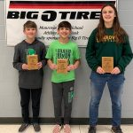 Big-O Tires Middle School Athlete(s) of the Week: Gavin Ash, Isaac Ash & Josie Hause