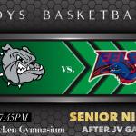 Senior Night – Bulldogs Boys Basketball hosts Eminence Tonight (Feb. 25th at 6:00/7:45pm) for the Powder Keg